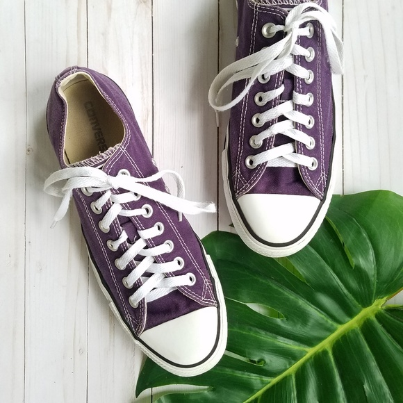 Converse Shoes - Converse Chuck Taylor All Star Purple Sneakers 2ae456b93